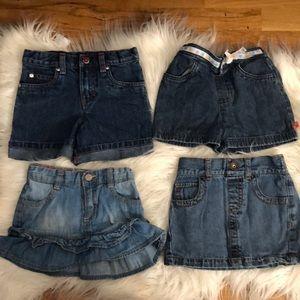 Bottoms - Little Girl's shorts bundle